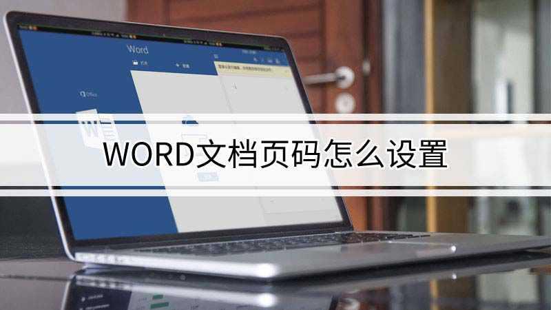 word文档页码怎么设置