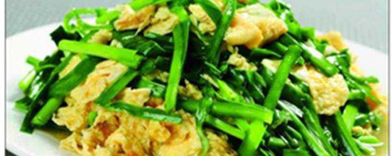 韭菜可以怎么做好吃
