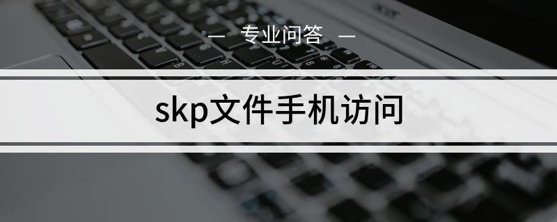 skp文件手机访问