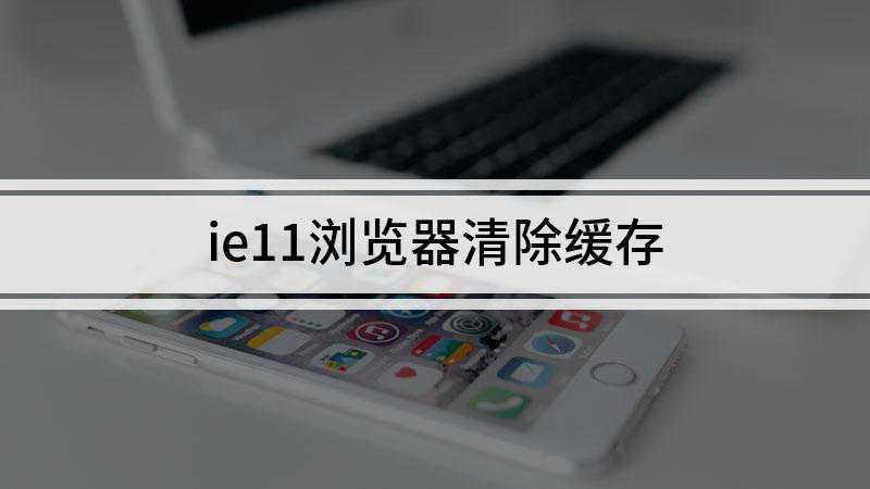 ie11浏览器清除缓存