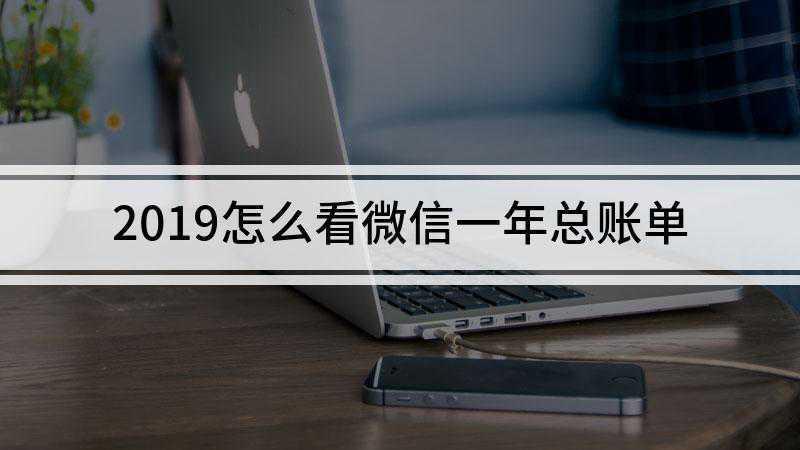 2019怎么看微信一年总账单