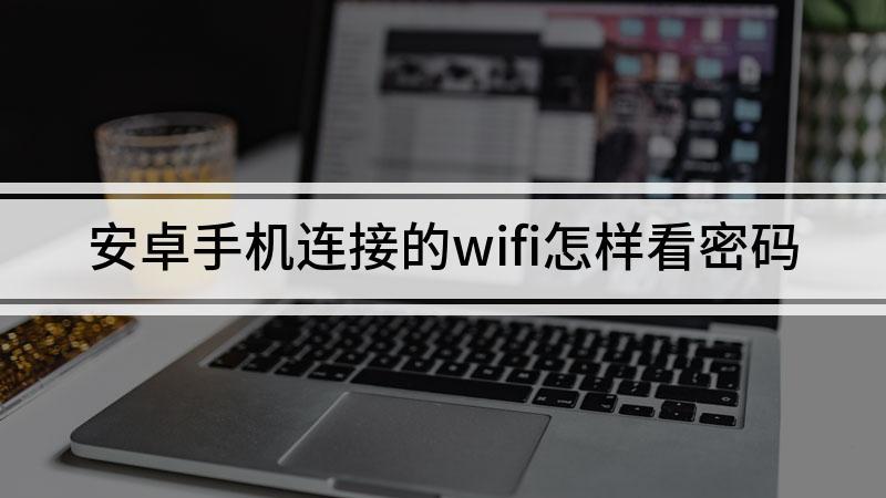 安卓手机连接的wifi怎样看密码