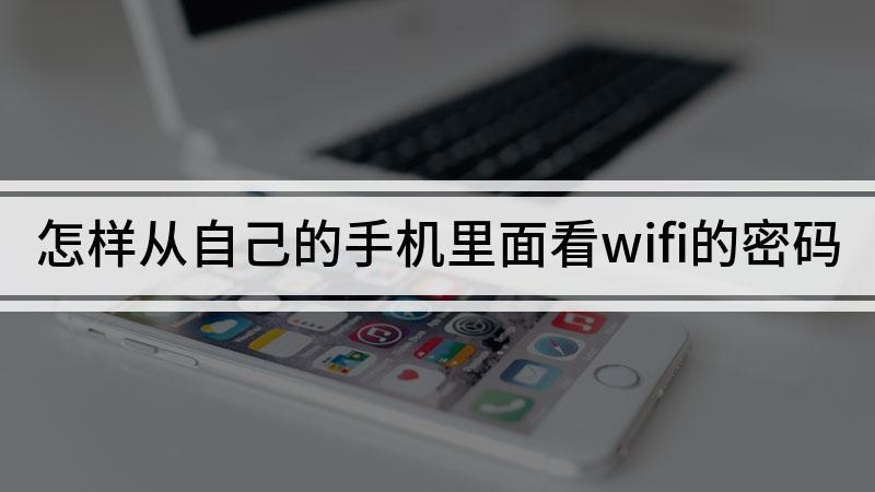 怎样从自己的手机里面看wifi的密码