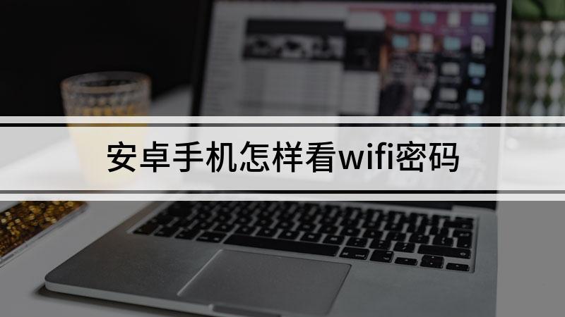 安卓手机怎样看wifi密码