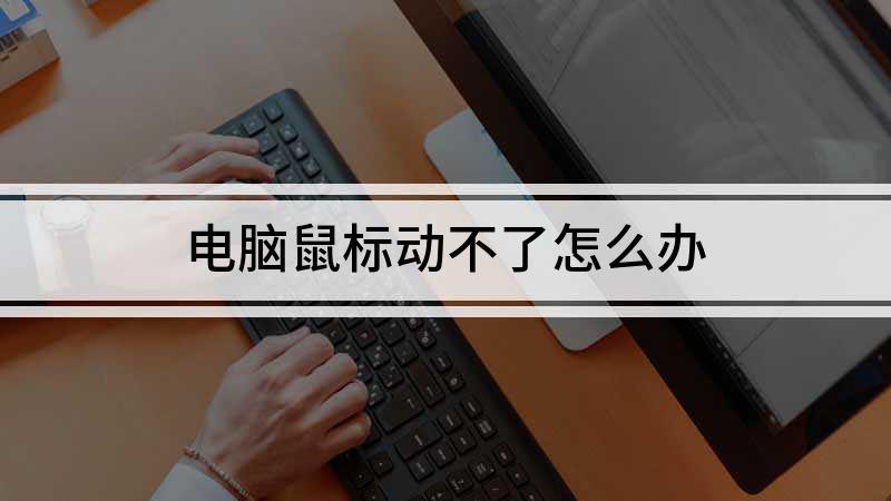 电脑鼠标动不了怎么办