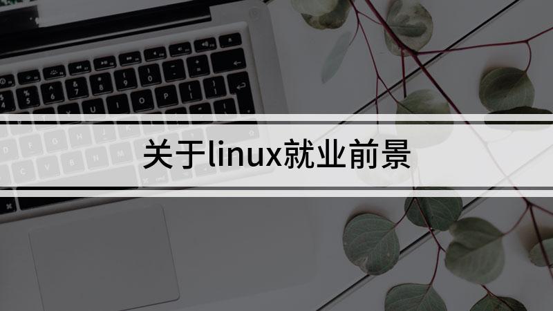 关于linux就业前景