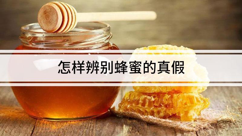 怎样辨别蜂蜜的真假