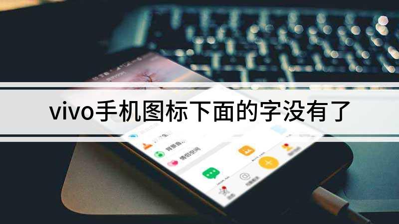 vivo手机图标下面的字没有了