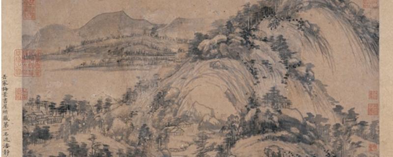 富春山居图前半卷为什么名字